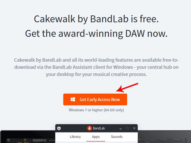 Как скачать и установить Cakewalk by BandLab
